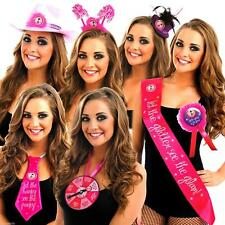 3 FOR 1 MIX & MATCH TAKE ME OUT HEN PARTY GIRLS NIGHT BIRTHDAYS SASHES BADGES