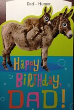 DAD BIRTHDAY CARD FUNNY for FATHER  HUMOR Choice of 13 by HALLMARK NEW w/Env