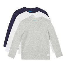 Bluezoo Kids Pack Of Three Boys' Assorted Long Sleeved Tops From Debenhams