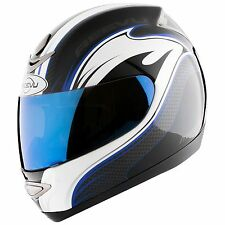 Reevu Msx 1 Rear View Helmet Blue Graphic