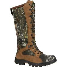 "Rocky 1570 ProLight 16"" Waterproof Snakeproof Mossy Oak Camo Hunting Boots"