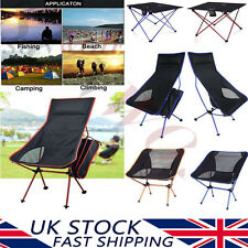 Portable Folding Seat Fishing Camping Lounger Chair Table Outdoor Party BBQ