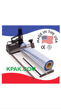 KPAK  Super Sealer Shrink Wrap Machine, Gun and Film