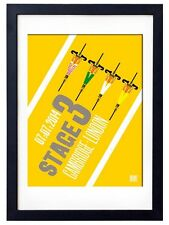 Stage 3 Tour de France - Cambridge to London - Cycling Poster