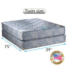 Dream Solutions USA Chiro Premier Orthopedic (Blue Color) Mattress and Box Set