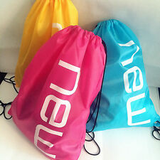 new GYM Swim School Dance beach water resist SPORT SHOE BAG DRAWSTRING BACKPACK