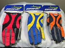 !!LAST ONE!! Girls Lacrosse Gloves Brine Fire - Womens Athletic, LAX Gloves