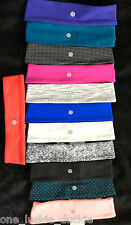NWT LULULEMON FLY AWAY TAMER HEADBAND SPACEDYE BLACK PINK WHITE BLUE PINK PURPLE