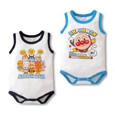 Anpanman Baby Boys Toddlers Birthday PJ Singlet Summer Cotton Romper Size 00 0 1