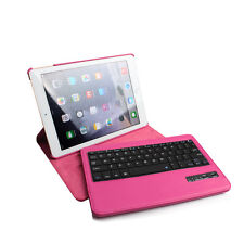 For iPad 2 3 4 360 Swivel Rotating Leather Case Cover with Bluetooth Keyboard