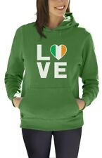 I Love Ireland - Irish Pride Flag of Ireland Gift Idea Women Hoodie Novelty Gift