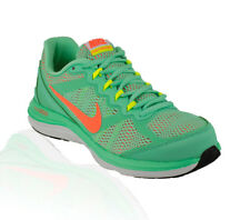 Nike - Dual Fusion Run 3 Running Shoe - Green Glow/Bright Mango/White/Volt
