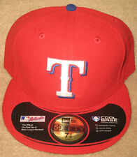 Texas Rangers Official On-Field Authentic - New Era 59Fifty Fitted Hat Cap - NEW