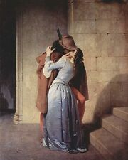 "Francesco Hayez ""The Kiss"" 1859, Photo Print"