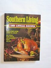 Vintg_'Southern Living-1989 Annual Recipes'_Cookbook_Charts_Menus_Photos_Collect