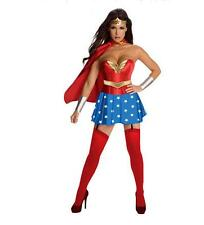 Sexy Adult Superwoman Costume Fancy Dress Halloween Cosplaly Party Supergirl