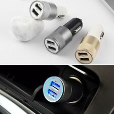Dual 2 Port USB Car Power Charger Adapter for iPhone6/6PLUS 5S iPod Camera CA