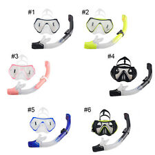 Silicone Swim Mask Diving Equipment Anti Fog Goggles Scuba Mask Snorkel Glasses