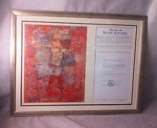 THE BEATLES: THE ART OF STUART SUTCLIFFE LIMITED EDITION PRINT 128/1000