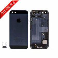 Back Housing Replacement Battery Case Cover Frame With Spare Parts For iPhone 5
