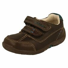 Boys Clarks Casual First Shoes Softly Lo -W