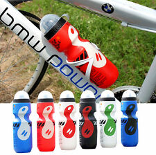 Portable Outdoor Bike Bicycle Cycling 750ML Sports Drinks Plastic Water Bottle