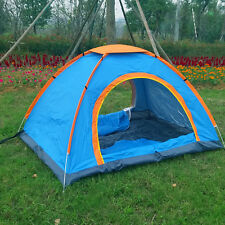 3-4 person Outdoor Double layer Waterproof Family Camping Hiking Instant Tent