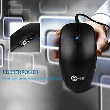 1000dpi Wired Optical Mouse Slim Mini Wired Mice USB for PC Laptop V4000 lot MG
