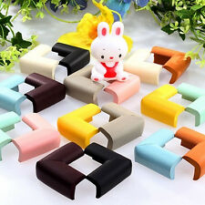 4X Table Desk Corner Edge Guard Cushion Baby Safety Care Bumper Protectors