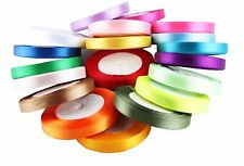 single roll of Double faced Satin Ribbon 3mm, 10mm, 25mm width (3mm x 100meters)