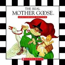 The Real Mother Goose Treasury by Blanche Fisher Wright Hardcover Book (English)