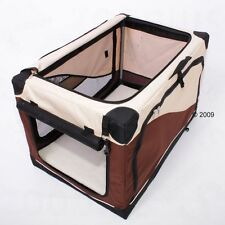 Indoor Pet Kennel Dog Cat Home Holiday Portable Car Travel Bed Dogs Cats House