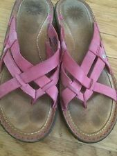 Sz 9 Womens UGG Australia Lanni Flip Flops Thong Sandals Shoes 1000608 Tea Rose