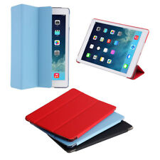 Smart Case For iPad Air/iPad Air 2 Retina Slim Stand Leather Back Cover lot BU