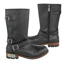 Xelement Men's Three Buckle with Shifter Pad Motorcycle Engineer Boots