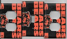 Chicago Bears Light Switch Cover and Electrical Outlet Plates