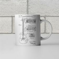 Gibson Les Paul McCarty Guitar Patent Art Mug Gift Guitarist Teacher Player Band