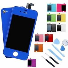 LCD Display Touch Screen+ Back Cover Assembly Replace For iPhone 4 4S CDMA GSM