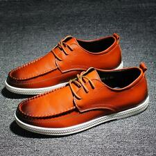 Mens Oxford Spring Sport Sneakers Loafers Lace-up Summer Shoes new #