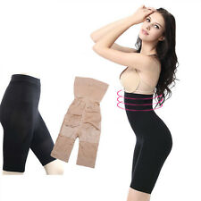 Sexy Lady Shapewear Tummy Pants High Waist Bum Thigh Trimmer Shorts Knickers New