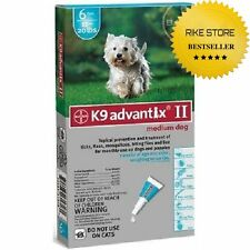 Bayer K9 Advantix II, Flea And Tick Control Treatment for Dogs ADVX ALL SIZE NEW