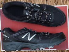 "NEW BALANCE ""MT410BS4"" MENS LITE COOL BLACK MESH TRAIL RUNNING SHOES LIST $60"
