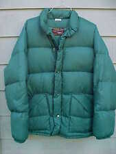 Walls Blizzard Pruf Large Vintage Goose Down Jacket Parka Green Ski USA