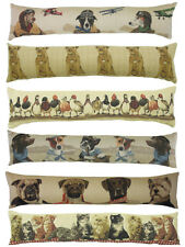 """NEW Evans Litchfield Belgium Tapestry Draught Excluders 36"""" x 6"""", 10 Designs"""