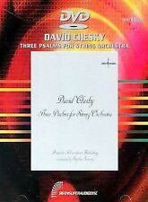 Three Psalms for String Orchestra David Chesky (DVD Audio, 1999) NEW