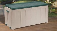 Keter Outdoor Garden Deluxe Storage Box With Seat 340L. SBD (O)