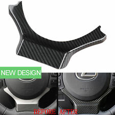 Carbon Fiber Car Steering Wheel Decor Cover for Lexus NX200 200t CT200h IS RC F