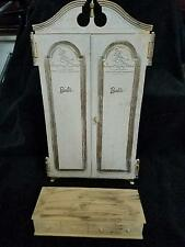 "BARBIE ""SUSY GOOSE"" WARDROBE ARMOIRE CLOSET & HOPE CHEST"