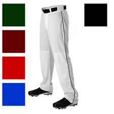ALLESON 605WLBY YOUTH BOYS BASEBALL BRAID PIPE PANTS A