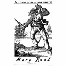 Mary Read Buccaneer Jolly Roger Pirates of the Caribbean Spanish Main T-Shirt